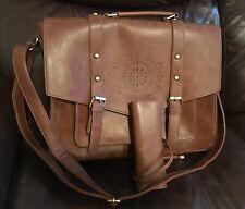 SOSATCHEL Women Briefcase Bag Faux Leather, 15.6 Inch Laptop Crossbody Shoulder