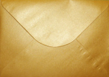 Premier Quality C5 162x229mm Envelopes for Greeting Cards A5 Metallic Gold x 50