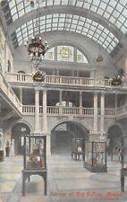 POSTCARD   BRISTOL   Art  Gallery  (  Interior  )