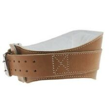 Schiek L2006 6 in Leather Support Weight Lifting Belt