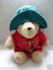 Paddington Bear Eden In Red Jacket & Green Hat 15 Inches Still Has Neck Tag!
