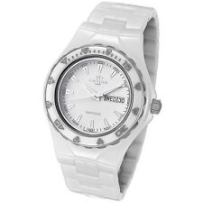Oniss Women's Ceramic Sports White Watch ON8402-L