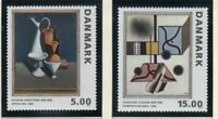 Denmark Sc 996-997 1993 Cubist Paintings stamp set mint NH