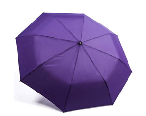 "Kolumbo Ultraslim Windmaster Purple Umbrella ""unbreakable"""