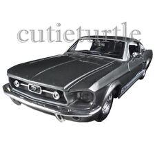 Maisto 1967 Ford Mustang GT 1:24 Diecast Model Car 31260 Grey