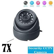 7 x Sony CCTV 4 IN1 Dome Camera 2.4MP HD CVI 238AHD TVI Analog NIGHT VISION UK