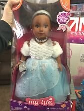 MY LIFE AS WINTER PRINCESS AFRICAN AMERICAN NEW HOLIDAY DOLL UNOPENED CUTE. 18¨