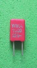 10 x 1,0nf/250v - diapositive condensatori WIMA mks-02 RM 2,5mm