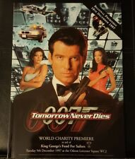 Tomorrow Never Dies World Charity Premiere Programme.