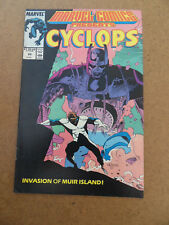 Marvel Comics Presents 20 . Cyclops . Marvel 1989 . FN / VF