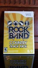 Rock Band: Country Track Pack (Nintendo Wii, 2009) BRAND NEW SEALED
