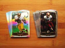 2014 Topps Chrome + Refractor Washington Redskins TEAM SET (20) Cards
