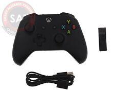 Microsoft Xbox Wireless Controller Wireless Windows 10 Black damaged USED ☝