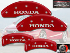 "2003-2011 ""Honda"" Element Front + Rear Red MGP Brake Disc Caliper Covers 4pc"
