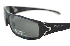 TAG HEUER RACER POLARIZED TH9205 901 Mens Sport Sunglasses MATTE BLACK GREY 2