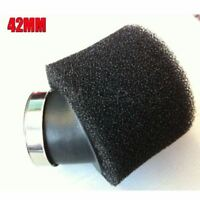 Black 42mm Air filter Foam Pod Air Filter Dirt Pit Trail Quad pit Bike ATV Buggy