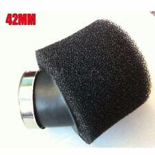 Black 42mm Air filter Foam Pod Air Filter Dirt Pit Trail Quad pit Bike ATV Buggy