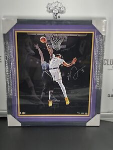Anthony Davis Rejection Signed Framed Photo 20x24 UD Los Angeles Lakers