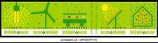 BELGIUM - 2009 GREEN STAMP ENVIRONMENT SG#4248-52 5V STRIP MNH SELF-ADHESIVE