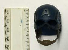 "12"" / 1/6Th Scale Hot Toys Captain America Figure Helmet Accessory"