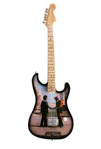 Miniature Guitar Replica - Pink Floyd Wish You Were Here Tribute