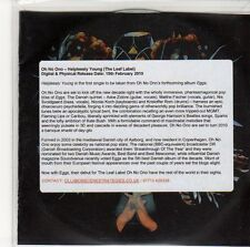 (EQ427) Oh No Ono, Helplessly Young - 2010 DJ CD