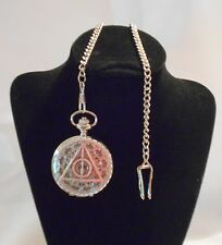 Deathly Hallows Harry Potter Watch Silver / Pocket or Necklace