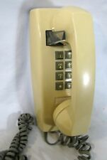 Push Button Wall Phone Ivory Cream Yellow Centel