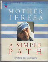 Mother Teresa A Simple Path 2 Cassette Audio Book Unabridged Spiritual Catholic