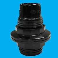Black Bakelite Antique Style Edison Screw E14 Light Bulb Lamp Holder M10 Socket