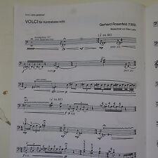 gerhard rosenfeld volci  - kontrabass double bass solo