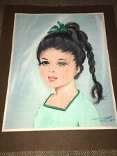 Peintures du XXe siècle et contemporaines huiles enfants sur soie