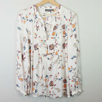 [ SUSSAN ] Womens Long Sleeves Floral Blouse Top | Size AU 16 or US 12
