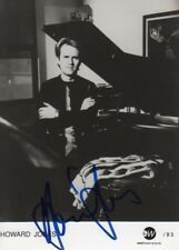HOWARD JONES autographe signed 13x18 cm image s/w