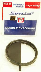Sonia screw-in double exposure filter, image splitter, double mask -- Cokin 346