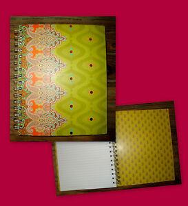 STUDIO C / CAHIER RIGIDE BLOC NOTE 180 PAGES DETACHABLES THE TAJ MAHAL NEUF