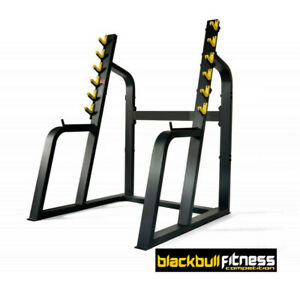 Black Bull Fitness Competition Series SQUAT RACK Heavy Weights Rack Gym Grade
