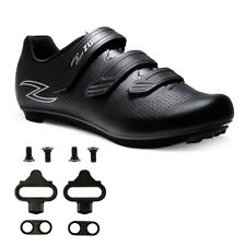 Zol Fondo Road Cycling Shoes W/ MTB SPD Cleats