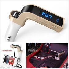 Wireless Bluetooth FM Transmitter Handsfree MP3 Player Radio Car Kit Charger HTC