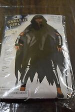 New Ghoulie Girl Skeleton Girl Halloween Child Costume size Small 4-6