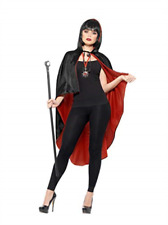 Vampire Kit, with Reversible Cape, Black Detachable Cane & Metal Me... NEW