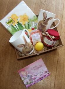 Ostergeschenk Geschenke Ostern Geschenkideen Osterhase Oster Geschenk Set Korb