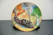 Hamilton Collection Above The Canyon Golden Age of American Railroads Plate