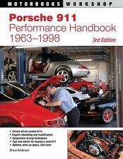Porshe 911 Performance Handbook 1963-1998~Engine~Suspension~Transmission~NEW