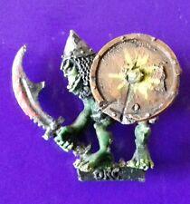 ORC1 warrior darkt metal citadel gw games workshop orcs scimitar & shield