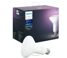 PHILIPS HUE 4 LOT WHITE & COLOR BR30 SMART BULB RECESSED FLOODLIGHT PERFECT!