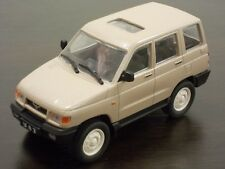 1:43 UAZ 3160, 1997 AWD SUV, #228 DeAgostini Autolegends