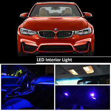 6pc Blu Interno LED Light Bulbs KIT BMW SERIE 5 E60 E90 E92 E91 E87 TETTO Mappa