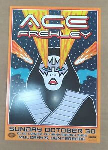 Ace Frehley Concert Poster / October 30, 2011 - Mulcahy's, Centereach / RARE!!!