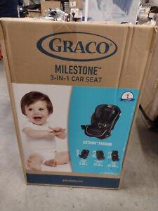 Graco Milestone 3-in-1 Car Seat - Gotham